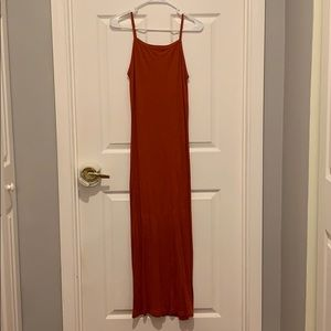 Topshop long dress sz 6 small